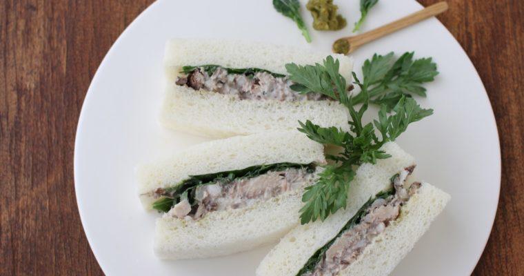 サンドイッチ日和 4  サバサンド ナガタユイ
