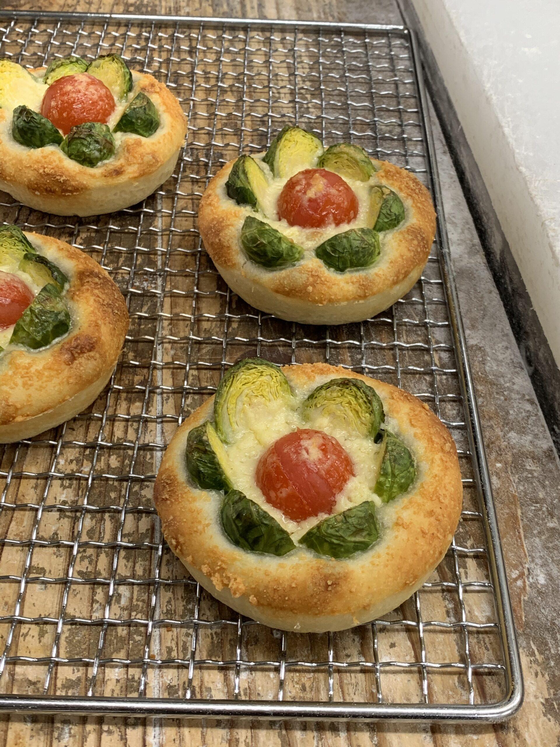春を感じるパン 春野菜を使ったパンの提案 ①  ブーランジュリー セット 松本和弘
